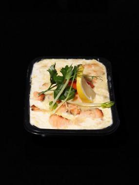 lasagne aux deux saumons